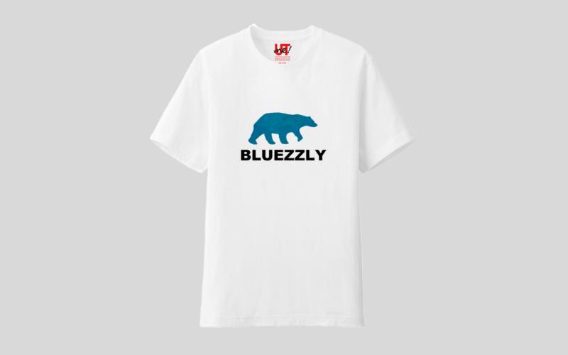 BLUEZZLYTシャツ