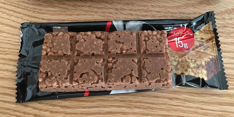 マツキヨプロテインバーチョコレート味