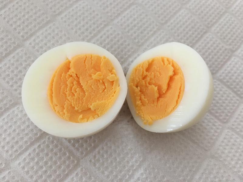 ゆで卵完成