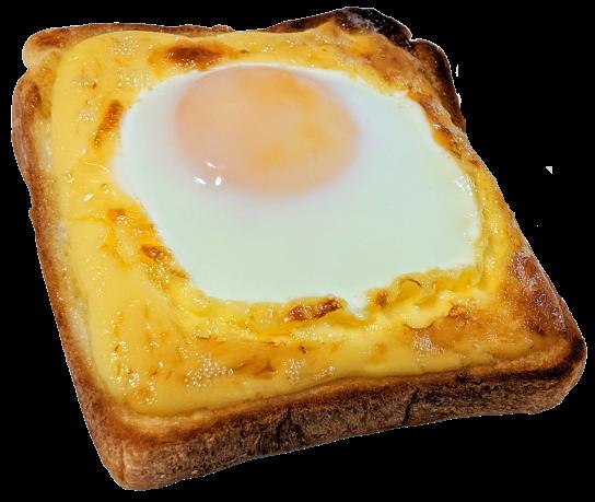 こがしマヨたまトースト