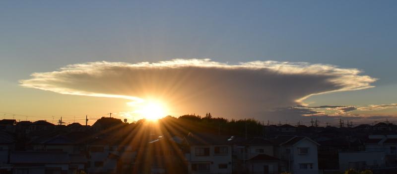 天気の子 積乱雲