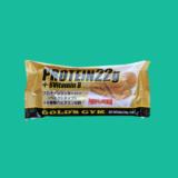 【ゴールドジムプロテインクッキーバーレビュー】たんぱく質22.2g244kcal【見た目はパン食感はカロリーメイト】