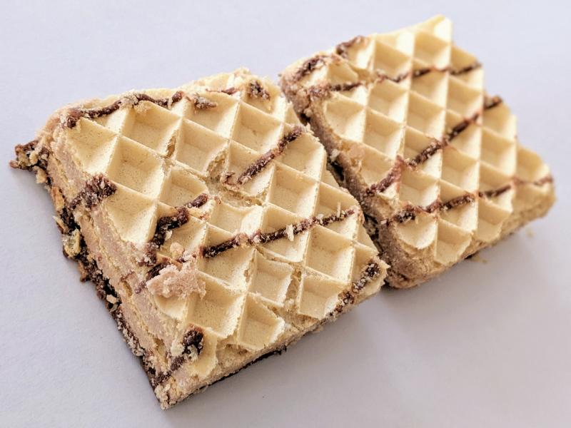 マイプロテインウエハースチョコレートヘーゼルナッツ味
