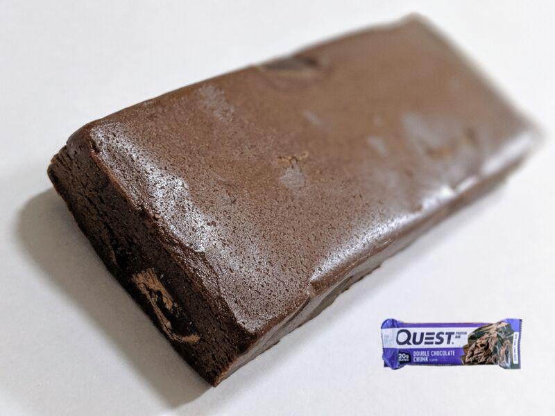 クエストプロテインバーダブルチョコレートチャンク