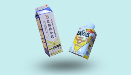 ザバスミルクプロテインvs牛乳