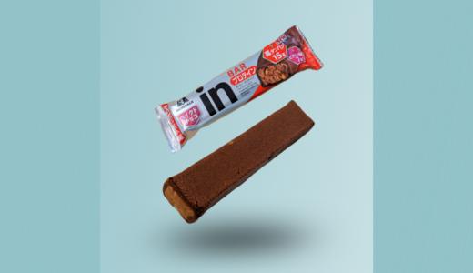 【(新)森永「inバープロテインベイクドチョコ」レビュー】たんぱく質15gにパワーアップ