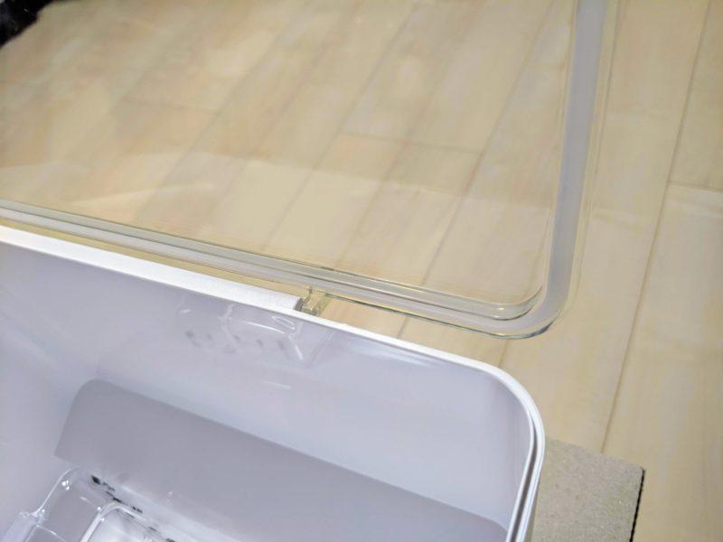 tower米びつはパッキンでしっかり密閉可能