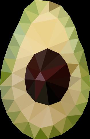 アボカドポリゴン