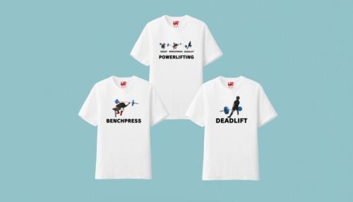 パワーリフティングTシャツ