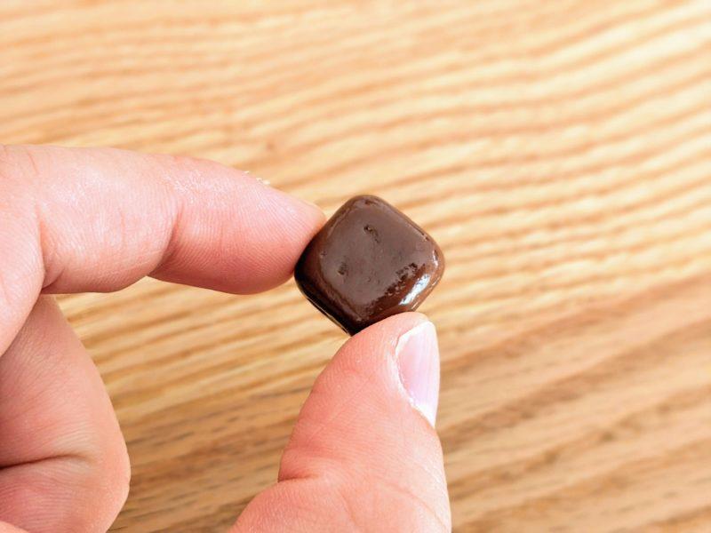 タンパクトミルクチョコレート大きさ