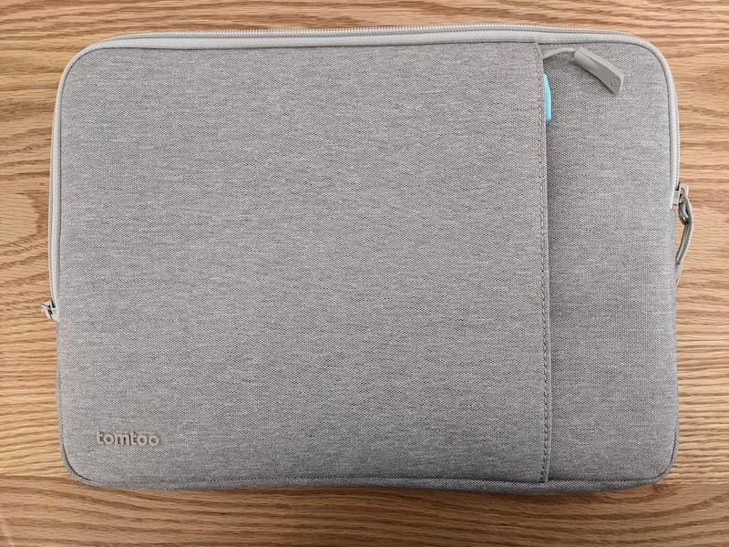 tomtoc MacBookインナーケース外観