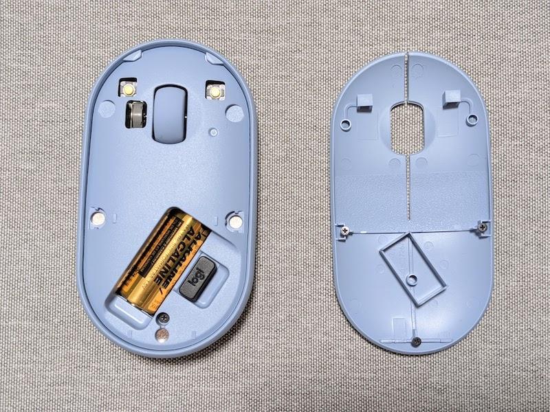 ロジクール「Pebble」BluetoothマウスはBluetooth接続可能