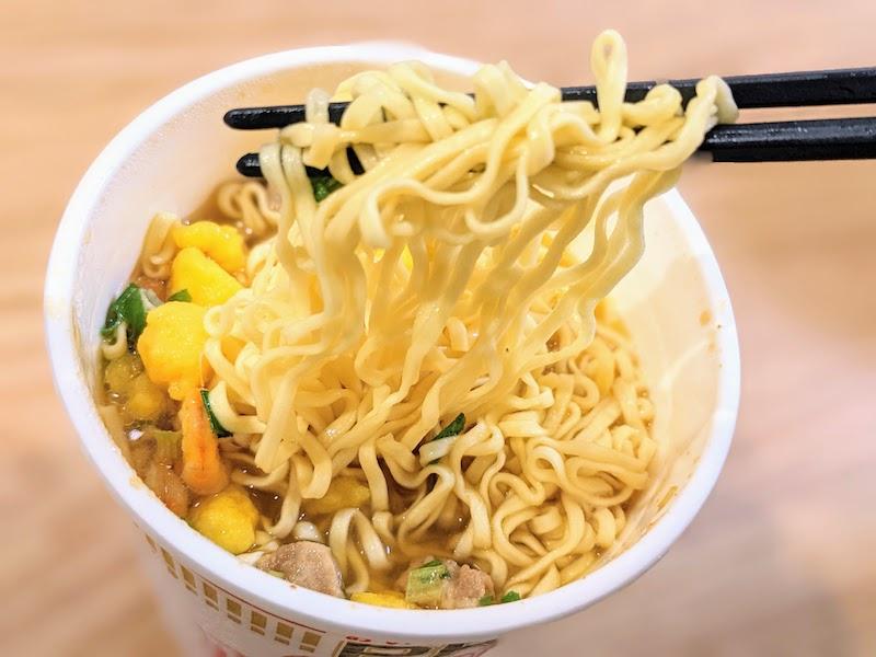 カップヌードルPRO麺