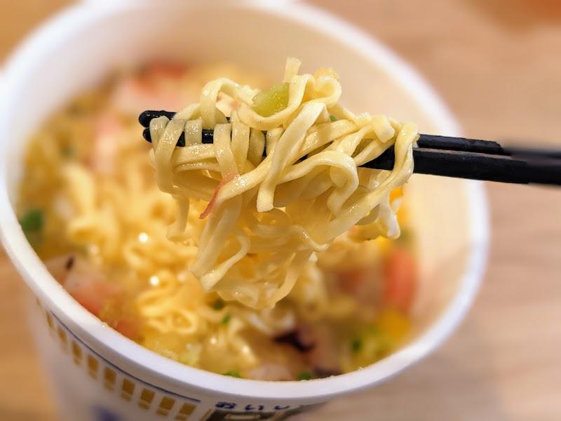 カップヌードルPROシーフード麺